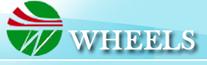 Wheels transport logo