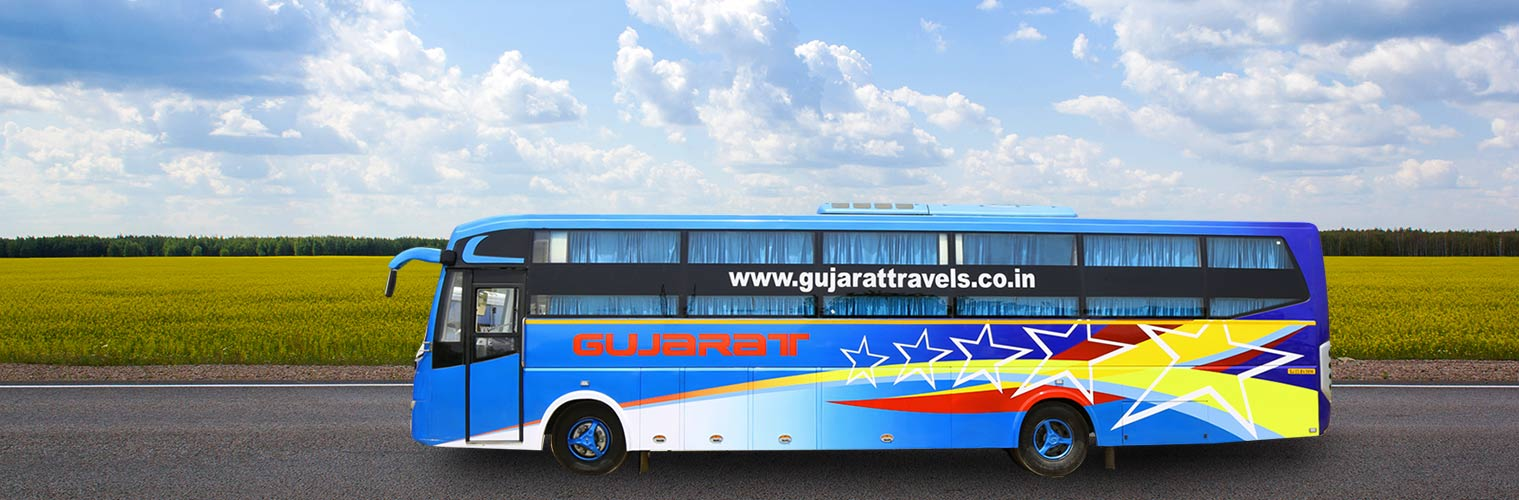 Gujarat Travels Online Bus Booking, Gujarat Travels Bus Tickets